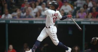 Cleveland Indians shortstop Francisco Lindor