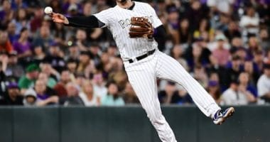 Colorado Rockies third baseman Nolan Arenado