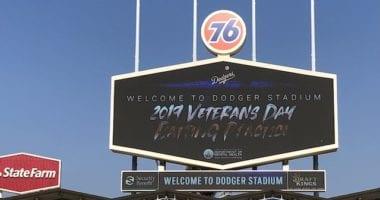 Veterans Day 2019, Dodger Stadium