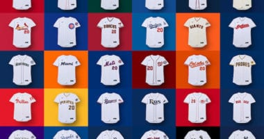 Official images of all 30 MLB jerseys designed by Nike