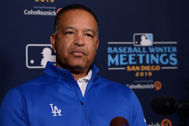 Los Angeles Dodgers manager Dave Roberts during the 2019 Winter Meetings