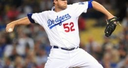 Former Los Angeles Dodgers relief pitcher Josh Lindblom