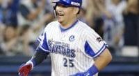 Japanese baseball star Yoshitomo Tsutsugo