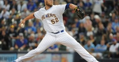 Former Milwaukee Brewers pitcher Jimmy Nelson
