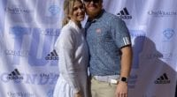 Justin and Kourtney Turner host the annual Justin Turner Golf Classic at Sherwood Country Club