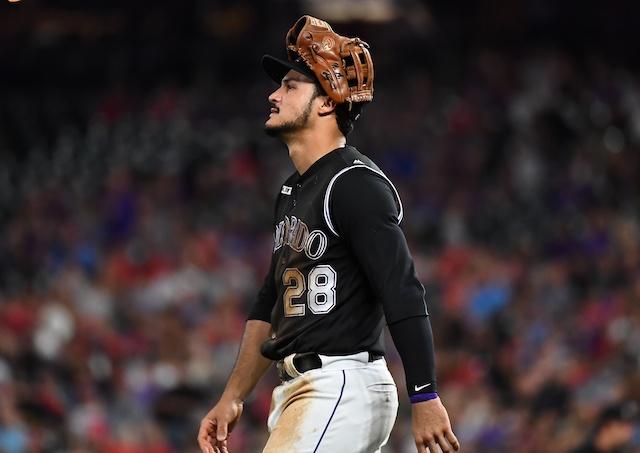 Colorado Rockies All-Star third baseman Nolan Arenado