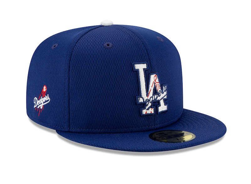 New Era 59Fifty Cap BATTING PRACTICE LA Dodgers