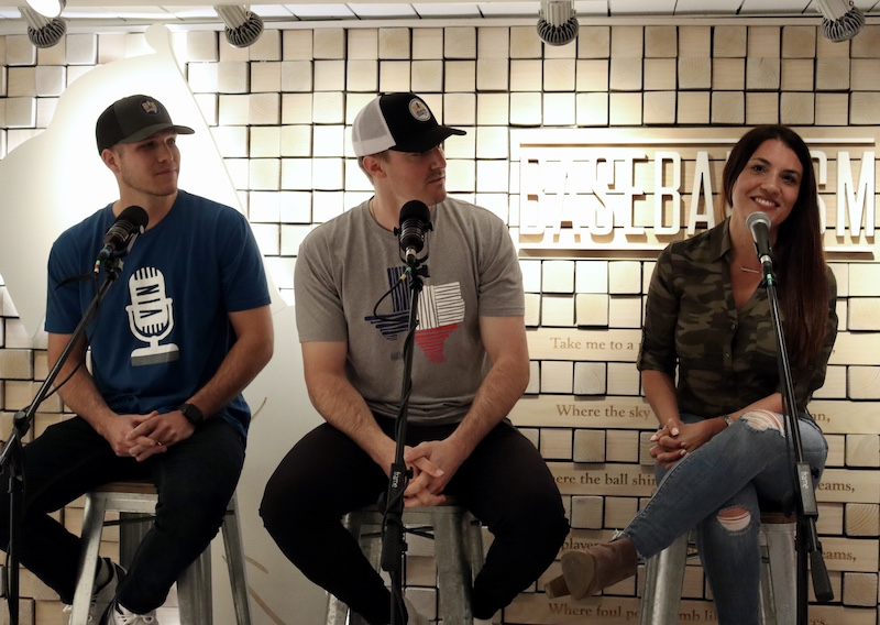 Alanna Rizzo, Ross Stripling, Cooper Surles, The Big Swing Podcast