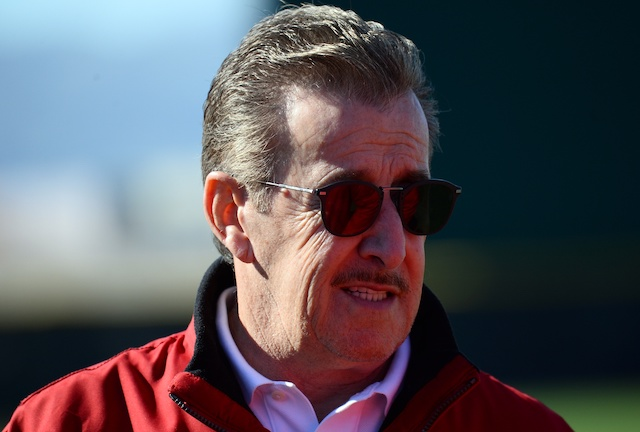Los Angeles Angels owner Arte Moreno during 2020 Spring Training