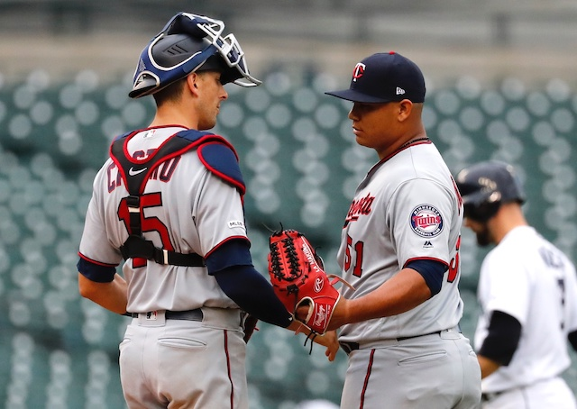 Minnesota Twins pitching prospect Brusdar Graterol