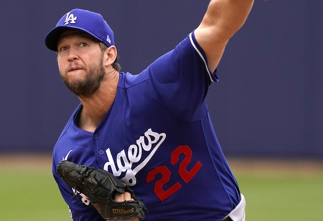Clayton Kershaw, 2020 Spring Training