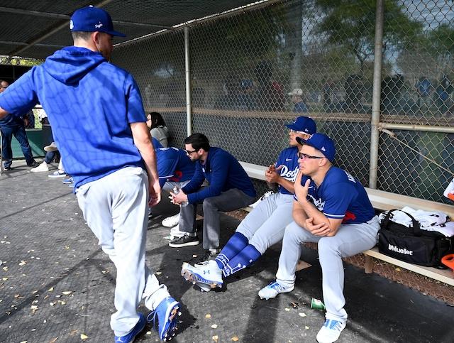 Cody Bellinger, Kiké Hernandez, Julio Urias, 2020 Spring Training