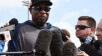 Houston Astros manager Dusty Baker during 2020 Spring Training