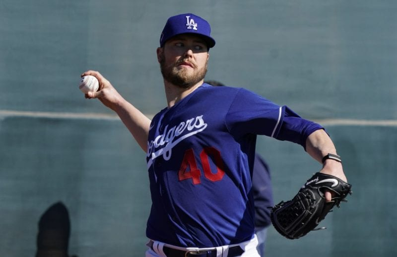 Jimmy Nelson, 2020 Dodgers Spring Training