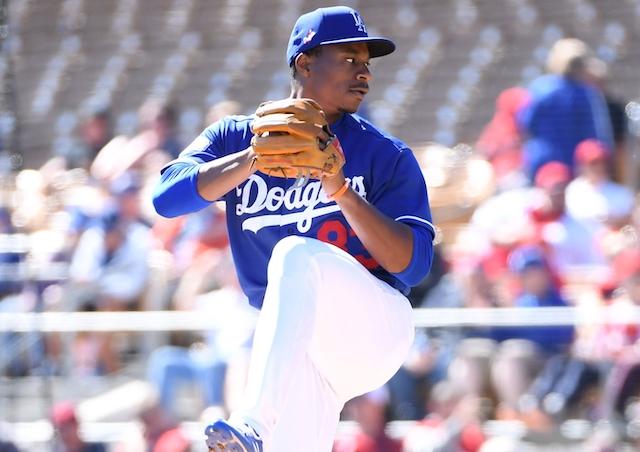 Dodgers Spring Training Josiah Gray Edwin Uceta Reassigned To Minor League Camp