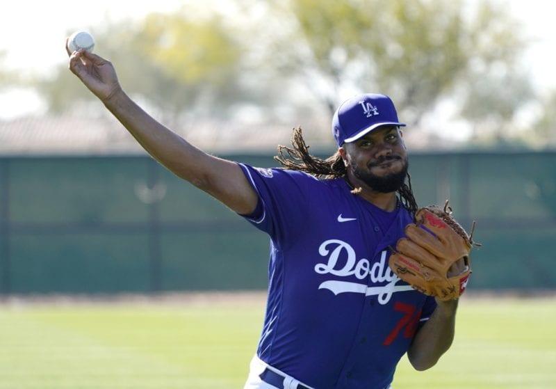 Kenley Jansen, 2020 Dodgers Spring Training