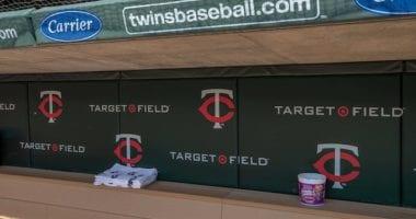Minnesota Twins dugout