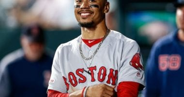 All-Star outfielder Mookie Betts