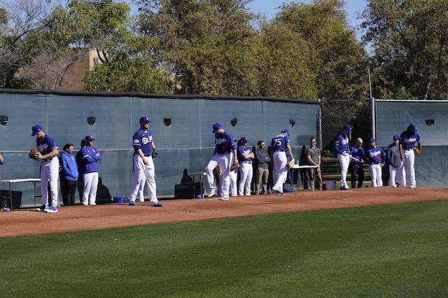 Scott Alexander, Kenley Jansen, Joe Kelly, Jimmy Nelson, Blake Treinen, 2020 Dodgers Spring Training