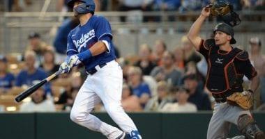 AJ Pollock, Dodgers, 2020 Spring Training