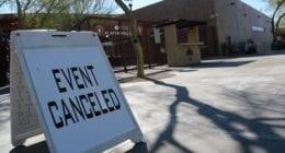 Camelback Ranch entrance