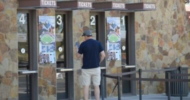 Camelback Ranch ticket office