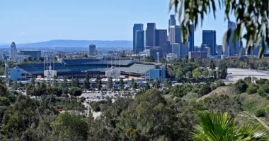 Dodger Stadium view