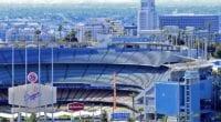 Dodger Stadium view, stands