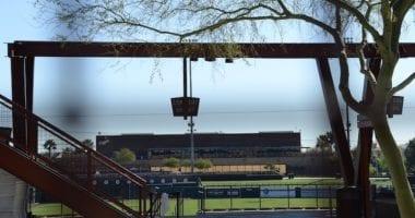 Dodgers building, Camelback Ranch stadium