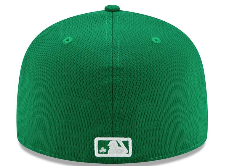 Dodgers cap, St. Patrick's Day 2020