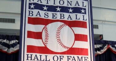 National Baseball Hall of Fame banner