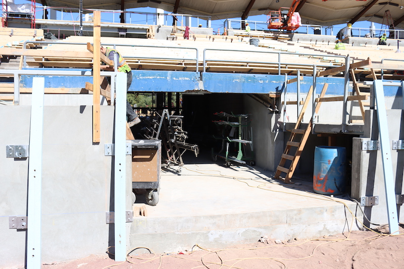 Pavilion, Home Run Seats, Dodger Stadium renovation