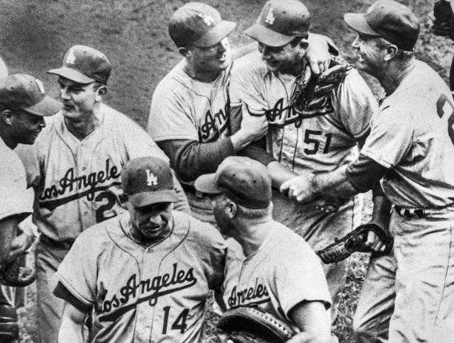 1959 Los Angeles Dodgers Roster Stats Schedule Postseason And Results