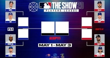 MLB The Show 20 Players League playoff bracket