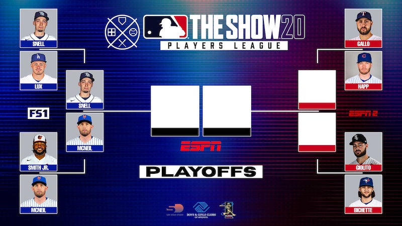Gavin Lux, MLB The Show 20 Players League playoff bracket