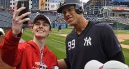 Aaron Judge, Washington Nationals fan