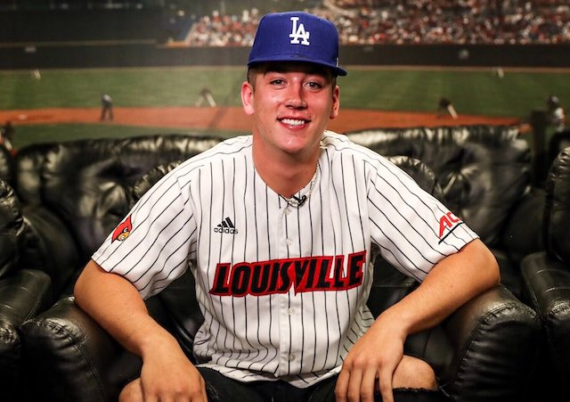 Dodgers Video: Bobby Miller Reacts To Being Selected In First Round Of 2020 MLB Draft