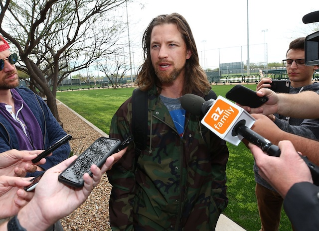 Former Mariner Mike Leake won't pitch in 2020
