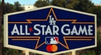 All-Star Game logo, Dodger Stadium pavilion