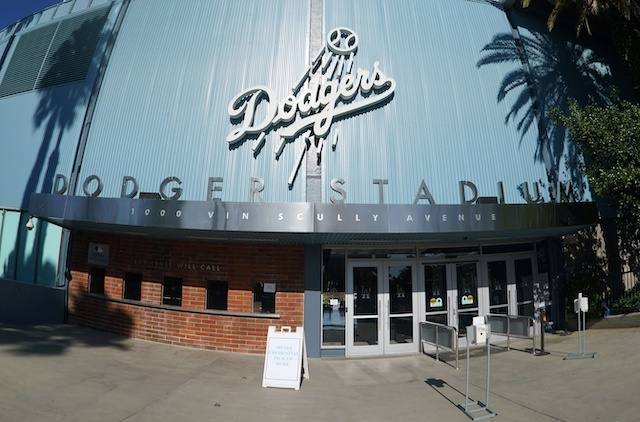 Dodger Stadium entrance, will call tickets
