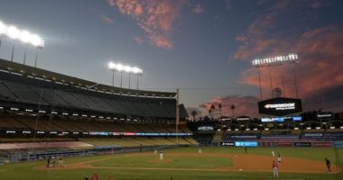Dodger Stadium, 2020 Spring Training