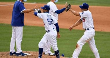 Mookie Betts, Clayton Kershaw, Joc Pederson, Corey Seager, Dodgers win