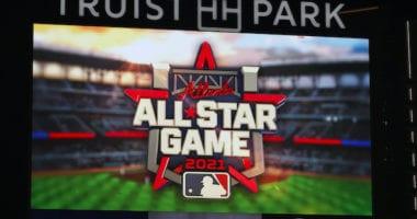 2021 MLB All-Star Game logo, Atlanta Braves, Truist Park