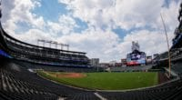 Coors Field view
