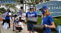 Dodgers fans, Dodger Stadium entrance