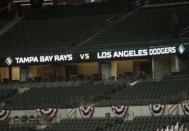 2020 World Series marquee