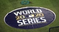 2020 World Series mound cover