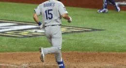 Austin Barnes, 2020 World Series