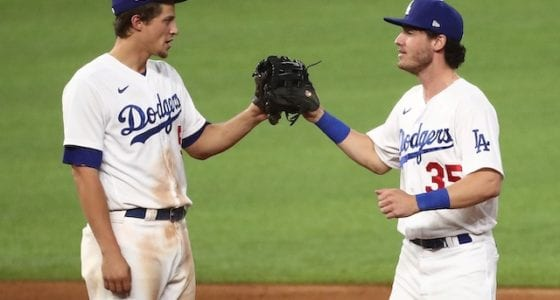 Cody Bellinger, Corey Seager, Dodgers win, 2020 NLDS