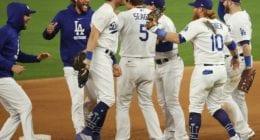 Cody Bellinger, Kiké Hernandez, Clayton Kershaw, Max Muncy, Corey Seager, Justin Turner, Alex Wood, Dodgers win, 2020 NLCS